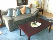 Couch and Coffee Table (Bed Couch) in Spangdahlem, Germany