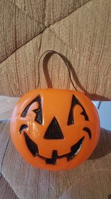 Pumpkin Halloween Trick or Treat Buckets/Bags in Chicago, Illinois