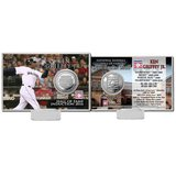 "Ken Griffey Jr. Highland Mint 4"" x 6"" 2016 Hall of Fame Induction Commemorative Coin Card in Tacoma, Washington"