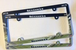 Seattle Seahawks Vehicle  License Plate Frames *** NEW *** in Fort Lewis, Washington