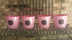 Upcycled Buckets with Chalkboard Label (4) in Naperville, Illinois