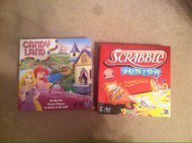 candy land and scrabble in Byron, Georgia