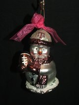 Texas A&M Aggies Football Christmas Ornament in Naperville, Illinois