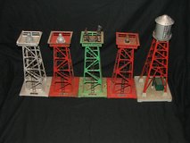Vintage Lionel Train Beacon & Water Towers in Plainfield, Illinois