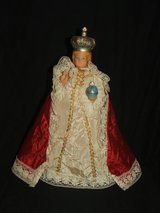 Vintage Infant of Prague Lighted Jesus statue Religious Figurine in Bolingbrook, Illinois