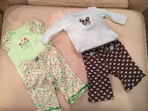 Carter's pant sets...size 6 months in Aurora, Illinois