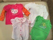 Baby girl tops..size 9 months in Aurora, Illinois