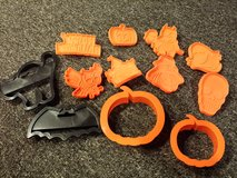 Halloween cookie cutters in Naperville, Illinois