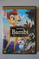 Walt Disney's Bambi 2-Disc Special Edition Platinum Edition DVDs in Oswego, Illinois