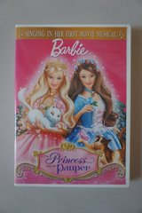 Barbie as The Princess and the Pauper DVD in Joliet, Illinois