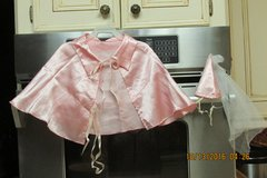 "Pink Satin Halloween Doggie ""Princess"" Costume -- Size Large in Kingwood, Texas"