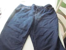Women's 18W Dark Blue Jean Capris New in Orland Park, Illinois