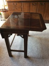 Wooden  accent table in Bolingbrook, Illinois