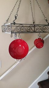 Nickel Decorative / Iron Hanging Pot Rack in Clarksville, Tennessee