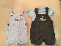 Overalls..size 0-3 months in Yorkville, Illinois