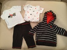 Carter's pant/hoodie set...size 3 months in Yorkville, Illinois