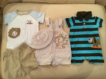 Rompers & overall sets...size 3 months in Yorkville, Illinois