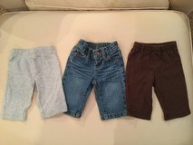 Baby jeans & pants...size 3 months in Yorkville, Illinois