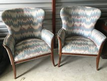 Pair of antique chairs in Joliet, Illinois