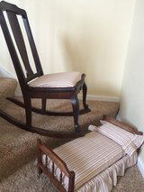 Vintage Doll Bed and Youth Rocker in Naperville, Illinois