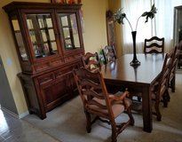 Dining room table & China cabinet in Joliet, Illinois
