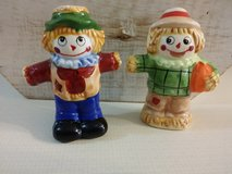 Vintage salt and pepper shakers in St. Charles, Illinois