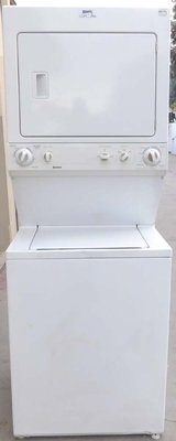STACK KENMORE WASHER & DRYER ( FULL SIZE GAS ) WITH WARRANTY in Camp Pendleton, California