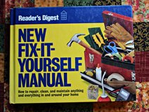 NEW Readers Digest Fix It Yourself Manual - How To Repair Anything in Plainfield, Illinois