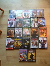 Selection of DVD's in Lakenheath, UK
