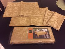 Gold placemats/tablecloth in Fairfield, California