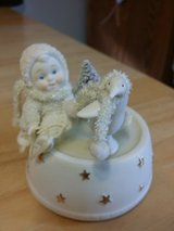 Snowbabies music box in Plainfield, Illinois