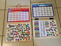 2 Melissa and Doug Magnetic Dry Erase Calendars w/ Lots of Magnets EUC in Travis AFB, California