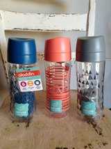 Set of #3 *NEW* Alladin 18 OZ. Infuse Water Bottles - in Rolla, Missouri
