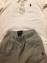 ralph lauren joggers and polo shirt in Lakenheath, UK
