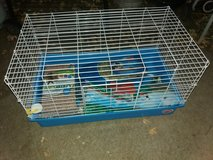 Small pet cage w/accessories in Fort Riley, Kansas