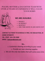 House Cleaning in Tinley Park, Illinois