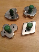 Vintage Green Wood Handle - Cookie Cutters in Rolla, Missouri