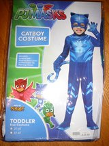 PJ Masks Catboy costume New in package size 2T-4T in Camp Lejeune, North Carolina