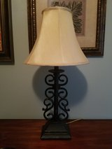 Lamp with shade in Lockport, Illinois