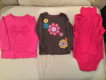 Carter's long sleeve shirts...size 24 months in Aurora, Illinois