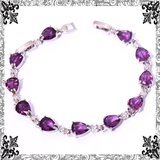 New - Purple Amethyst Bracelet in Alamogordo, New Mexico