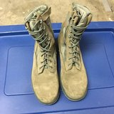 Men's Military Steel Toe Boots (Size: 12) in Travis AFB, California