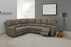 "NEW MODEL - Sectional ""Chantilly"" with Recliners - Material - as shown - Includes Delivery in Ansbach, Germany"