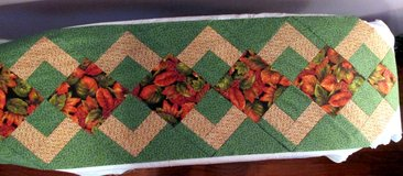 Fall Patchwork Table Runner Top in Perry, Georgia