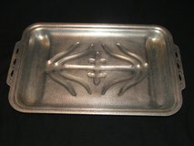 Vintage Hammered Aluminum Sizzle Maid 4 Man Broiler Tray in Bolingbrook, Illinois
