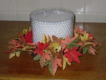 "fall candle ring for 6""W candle in Bolingbrook, Illinois"