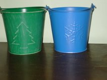 2 sm. metal buckets in St. Charles, Illinois