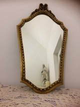 Nice antique mirror from France with roses in Ramstein, Germany