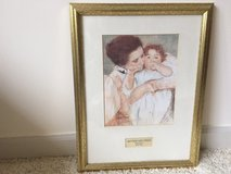 Mother and Child Painting by Mary Cassatt in Cherry Point, North Carolina