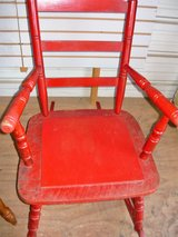 Red Rocking Chair in Fort Campbell, Kentucky